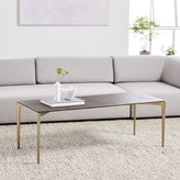 west elm Textured Metal Coffee Table