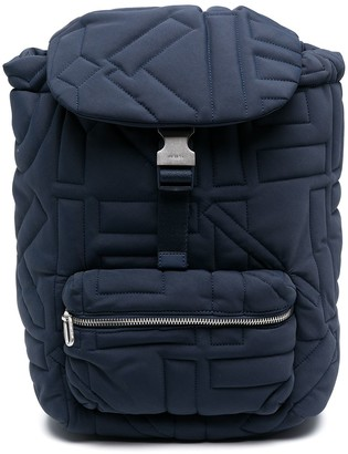 Kenzo Quilted Backpack