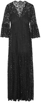 Rachel Zoe Andoni Corded Lace Maxi Dress - Black