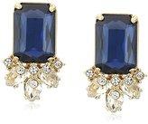"""Carolee Blue Note"""" Button Pierced Stud Earrings"""