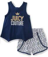 Juicy Couture 2pc Short Set
