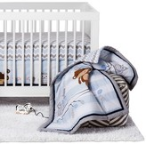 Bedtime Originals 3-Piece Crib Bedding Set - Mod Monkey