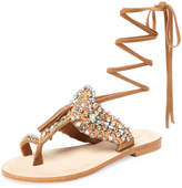 Antik Batik Women's Betsy Embellished Lace-Up Sandal