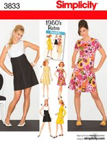Simplicity Sewing Pattern 3833 Miss/Miss Petite Dresses