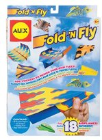 Alex Craft Fold And Fly Airplanes