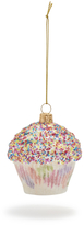 Sur La Table Party Cupcake Glass Ornament