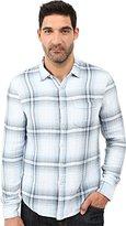 Joe's Jeans Men's Double Woven Plaid Shirt
