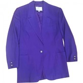 Versus Purple Silk Jacket for Women Vintage
