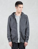 Reigning Champ Tiger Jersey Zip Up Hoodie