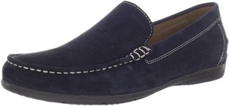 Geox Men's U SIMON A Loafer Flats Blue (BLUE C4000) 8.5 UK (42.5 EU)