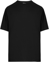 Raf Simons American-fit Self Portait-print cotton T-shirt
