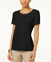 JM Collection Jacquard T-Shirt, Created for Macy's