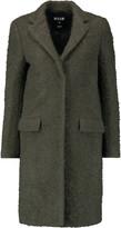 MSGM Wool-blend bouclé coat