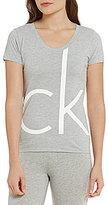 Calvin Klein Logo Jersey Sleep Tee