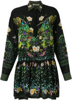 Piccione Piccione Piccione.Piccione printed shirt dress
