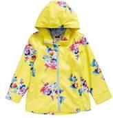 Joules Girl's Print Rain Jacket