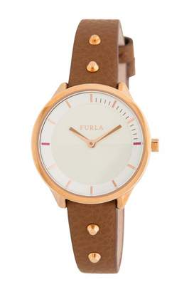 Furla Womens Analogue Quartz Watch with Leather Strap R4251102523