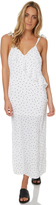 Reverse Woemns Camilla Spot Slip Dress White