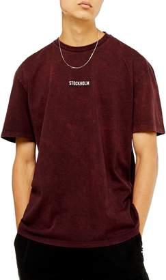 Topman Stockholm Oversize T-Shirt