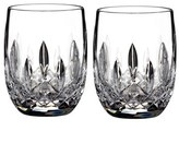 Waterford 'Lismore' Lead Crystal Rounded Tumblers
