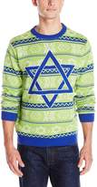 Alex Stevens Men's Hannukah Nights Sweater