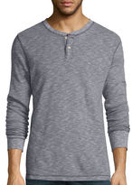 Arizona Long-Sleeve Henley Thermal Shirt