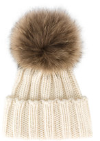 Inverni racoon fur bobble hat - women - Cashmere/Racoon Fur - One Size