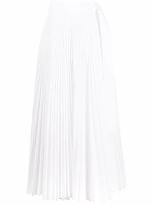 P.A.R.O.S.H. Pleated Maxi Skirt