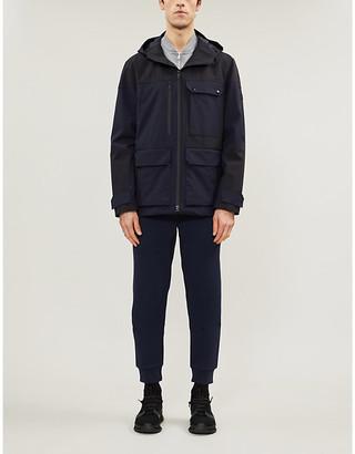 3415 Hooded wool field jacket