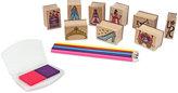 Melissa & Doug Kids Toy, Wooden Princess Stamp Set