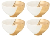 10 Strawberry Street 2 Tone Porcelain Cereal Bowls (Set of 4)