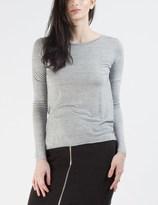 Cheap Monday Grey Melange State L/S T-shirt