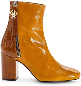 Pinko Two-Tone Ankle Boots