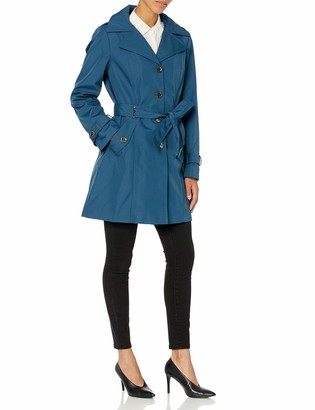 Calvin Klein Women's single breasted rain coat