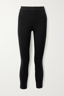 Spanx Stretch-ponte Skinny Pants - Black