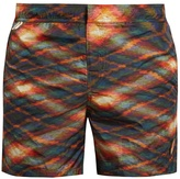 Missoni Abstract-print swim shorts