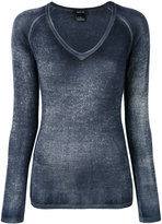 Avant Toi V neck top - women - Silk/Cashmere - S