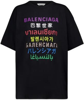 Balenciaga Languages T-shirt