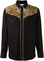 Saint Laurent slim Western shirt