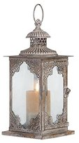 Deco 79 52900 Metal & Glass Lantern
