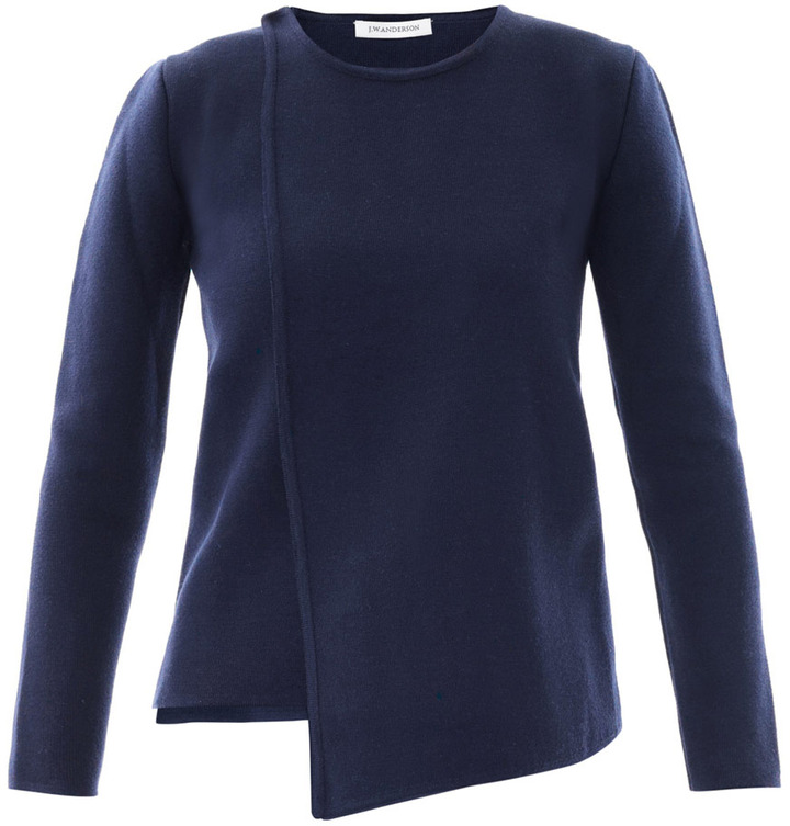 J.W.Anderson Panel wool sweater