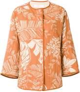 See by Chloe leaf print jacket
