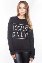 Local Celebrity Locals Only Bobbi Sweater in Black