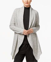 Eileen Fisher Open-Front Shawl-Collar Cardigan