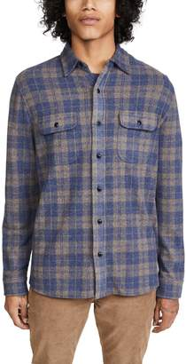 Faherty Legend Check Sweater Shirt