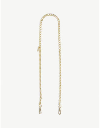Marc Jacobs Gold-tone chain shoulder strap