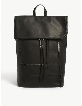 Rick Owens Larry leather duffle bag