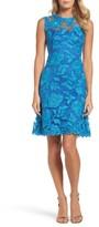 Tadashi Shoji Women's Noelle Floral Fit & Flare Dress