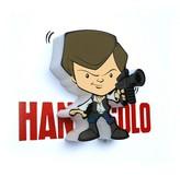 Star Wars 3D Light FX Mini Nightlight Hans Solo