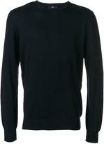 Fay elbow patch jumper - men - Virgin Wool - 46
